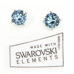 Earrings_Swarovski_Solitaire_Asst_Colors_2101
